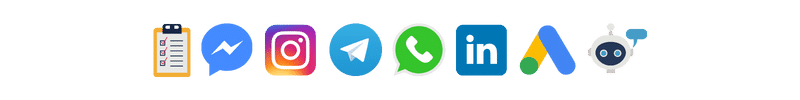 redes sociais social cliques leads